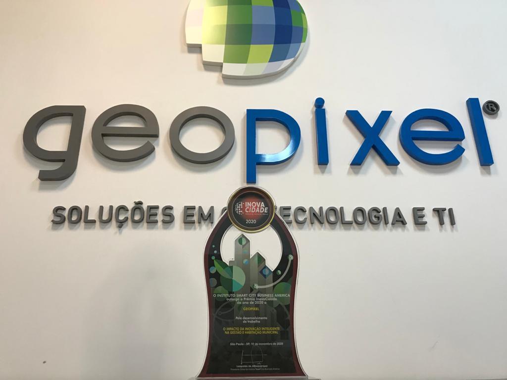 Geopixel recebe Prêmio InovaCidade